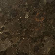 brown pearl granite with recessed panel kitchen transitional and