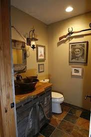 image of decorating cave bathroom plan 11585kn fully loaded rustic retreat cabin bathrooms