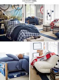 pbdorm lookbook pbteen a blanket here a wall decal there show your school pride with bedding and decor that feature team mascots and logos