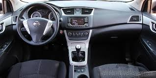 Nissan Sentra Interior 2015 Nissan Sentra Review The Automotive Review