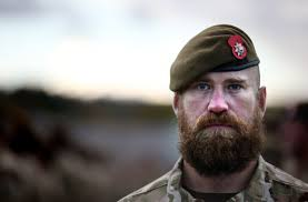 the only army rank allowed to have a beard on parade