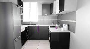 cuisine blanche plan de travail noir cuisine blanc plan de travail noir 2017 et cuisine blanche