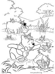 winnie pooh winnie pooh piglet eeyore coloring