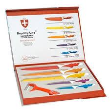 coffret de couteaux de cuisine coffret de 5 couteaux de cuisine de fabriquation suisse