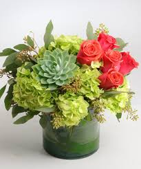 flowers arrangement the atlanta sunset flower arrangement by carithers flowers