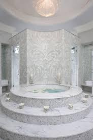 Round Bathtub Steps To Bathtub Contemporary Bathroom Habachy Design