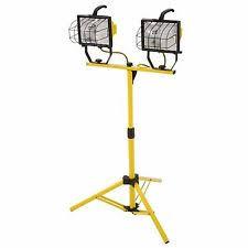 hdx portable halogen work light hdx 500 watt portable halogen work light 509 953 ebay