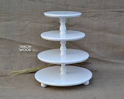 tiered serving stand 3 tier table etsy
