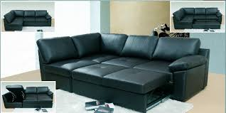 Large Black Leather Corner Sofa Real Leather Corner Sofa Bed With Storage Cozysofa Info