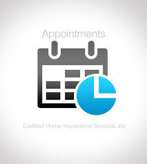 home inspection logo design appointment request for an appointment certified home