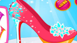 barbies princess shoes dress up game for kids youtube