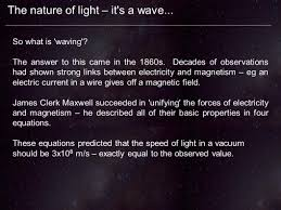 What Is The Speed Of Light Chapter 5 U2013 The Nature Of Light Ppt Video Online Download