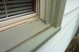 How To Replace A Window Sill Interior Black Mold Around Window Sills Orange Mold