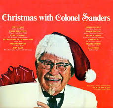 christmas photo albums colonel sanders christmas with prs291 christmas vinyl record