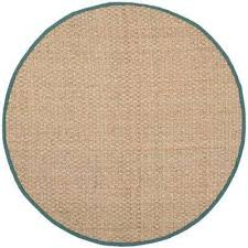 light blue round area rug round coastal blue area rugs rugs the home depot