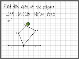 Worksheet Works Calculating Area And Perimeter Answers Area And Perimeter Of Polygons In Coordinate Plane Youtube