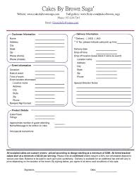 wedding cake order form wedding invitation order form yourweek 700c5ceca25e