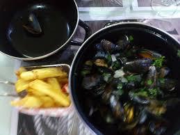sylvie cuisine moules frites picture of la poissonnerie chez sylvie sarlat la