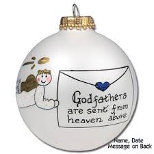 buy godfather glass ornament personalized ornament