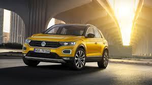volkswagen up yellow volkswagen reveals new t roc suv