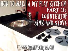 Kitchen Sink Play How To Make A Diy Play Kitchen Part 3 How To Make The Sink