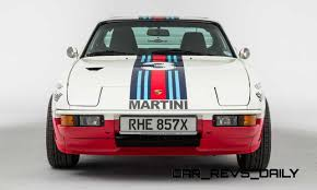 porsche martini logo pristine porsche 924 martini rally car up for grabs in new uk