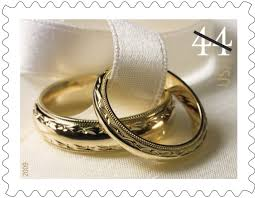 martin luther wedding ring the postal service uses wedding sts to encourage mail