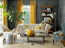 Living Room With Stairs Design Grey Living Room Curtains U2013 Resonatewith Me
