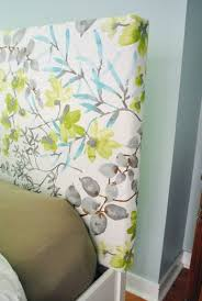 How To Make Your Own Fabric Headboard by Best 20 How To Cover A Headboard With Fabric Ideas On Pinterest