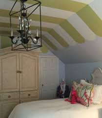 how to paint stripes on a ceiling designing with confidence