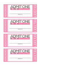 free printable tickets to love valentine coupon book shesaved