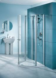 bathroom glass shower ideas blue modern bathroom with glass shower box design ideas how to get