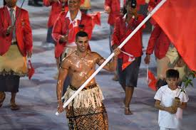 Flag Ceremony Meaning Rio 2016 Olympics Tonga Flag Bearer Tops Opening Ceremony Time
