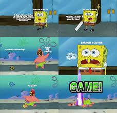 Smash Bros Memes - prat falling pants super smash brothers know your meme