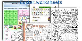 english teaching worksheets easter