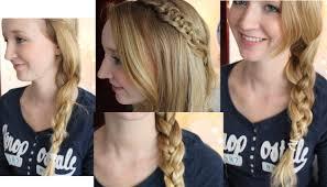 Frisuren Zum Selber Machen F Die Schule by Die Besten 25 Französischer Zopf Halblangen Haaren Ideen Auf