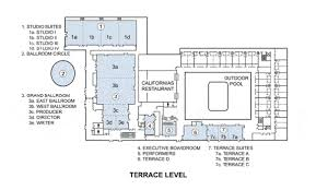 universal city event space floor plans sheraton universal hotel