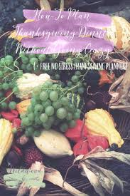 plan thanksgiving free thanksgiving planner wildwood
