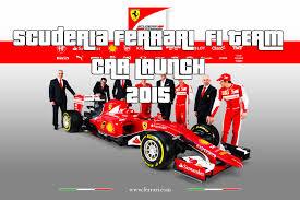 scuderia f1 scuderia f1 team 2015 official car launch sf15 t 2015 car