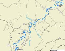 cumberland river map kentucky department of fish wildlife south fork of