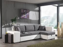 canap gris fonc salon avec canap gris fonc avec canap d angle convertible avec pouf