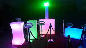 led furniture with 2 blizzard snowbank lights youtube
