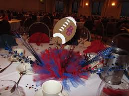 banquet centerpieces football banquet centerpiece touchdown football