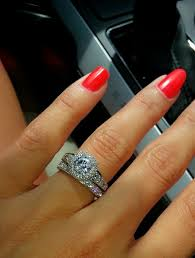 tacori wedding bands my engagement ring tacori with wedding band loveee it soo much