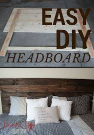 Rustic King Headboard Diy How To Make Your Own Wood Headboard Wood Headboard Diy Wood