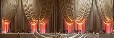wedding drapery for your chicagoland wedding or corporate event