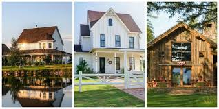 30 gorgeous farmhouses across america country living house and