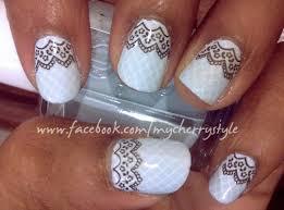 borrowed u0026 blue bridal nail art my cherry style