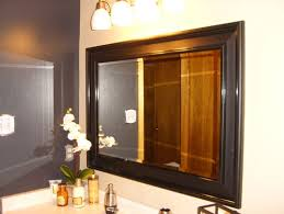 How To Hang Bathroom Mirror How To Hang A Large Mirror