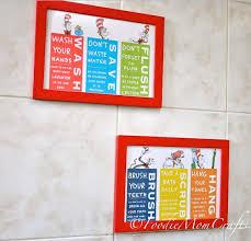 dr seuss bathroom decor for kid u0027s room inspiration home interiors